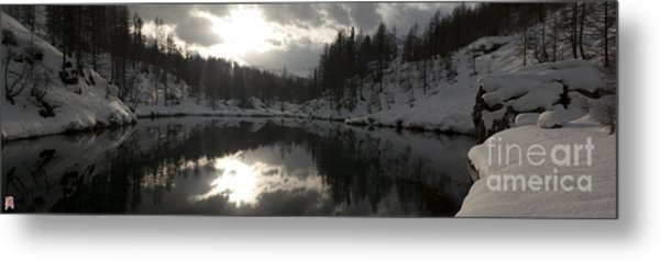 Lago Delle Streghe Metal Print by Marco Affini