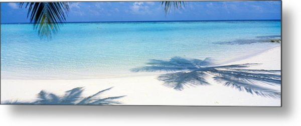 Laguna Maldives Metal Print