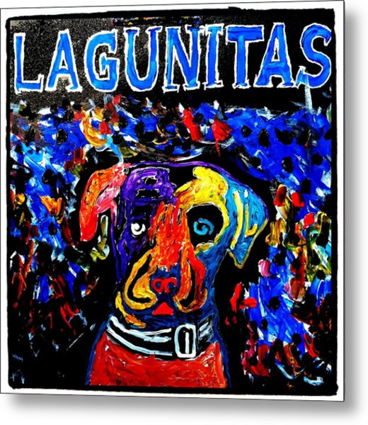 Lagunitas Dog Metal Print