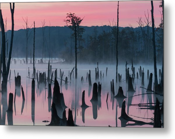 Lake @ Morning #2 Metal Print by ??? / Austin