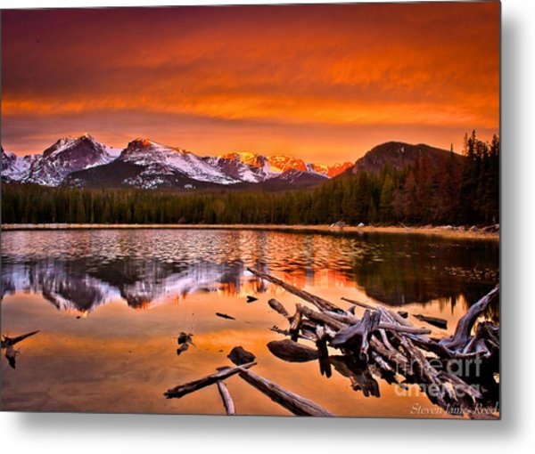 Lake Bierstadt In The Morn Metal Print