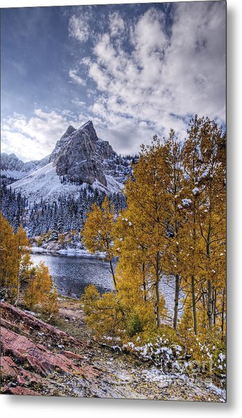 Lake Blanch Metal Print by Earl Nelson