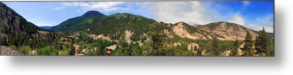 Lake City Colorado Mountain Range Metal Print