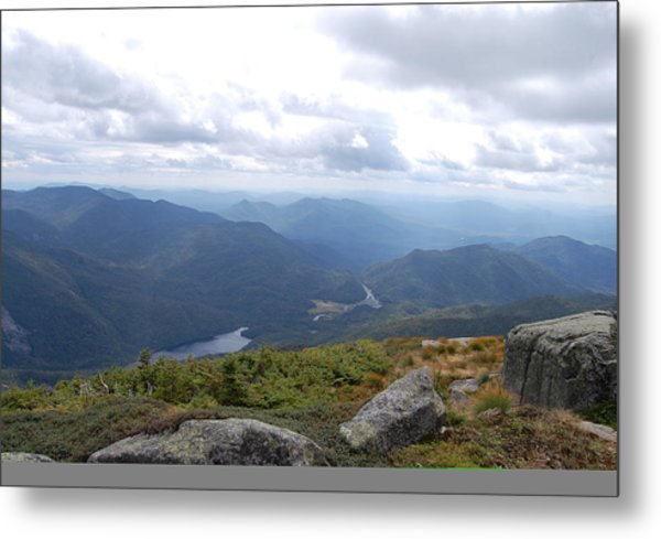 Lake Colden And Flowed Lands Metal Print