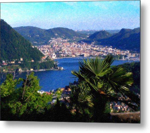 Lake Como Itl7724 Metal Print