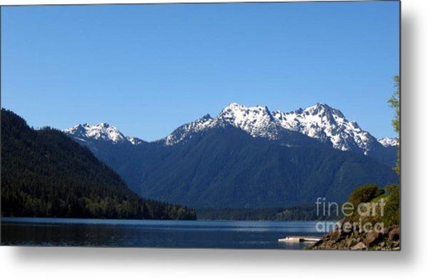 Lake Cushman - Olympic National Forest Metal Print