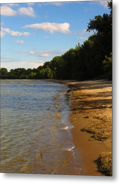 Lake Erie Shore 3 Metal Print