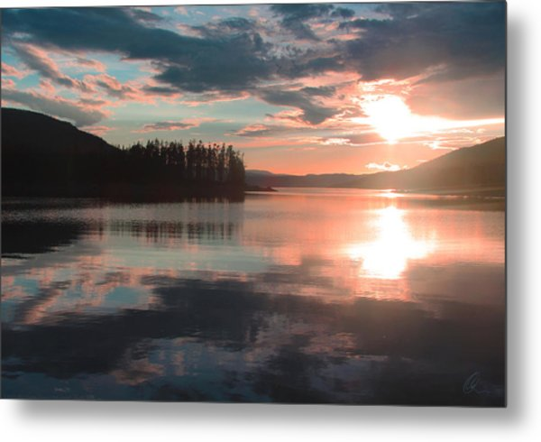 Lake Granby Sunset Metal Print