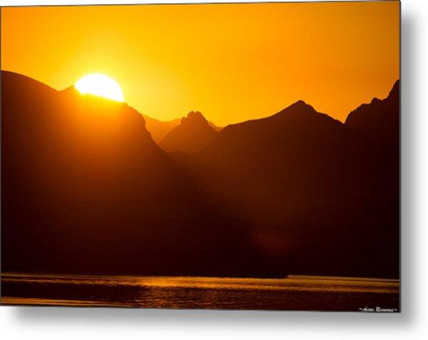 Lake Havasu Sunrise 2 Metal Print