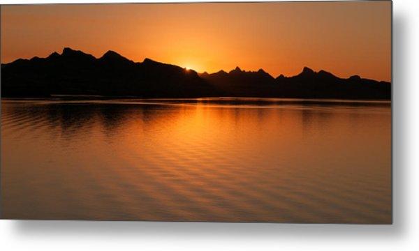 Lake Havasu Sunrise Metal Print