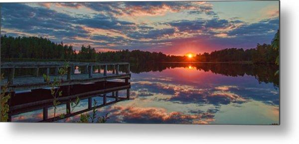 Lake Horicon Sunset 1 Metal Print