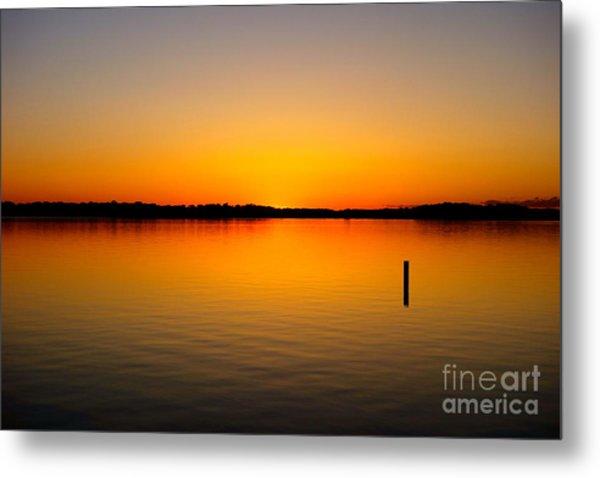 Lake Independence Sunset Metal Print