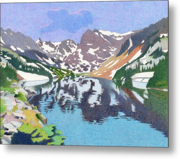 Lake Isabelle Colorado Metal Print