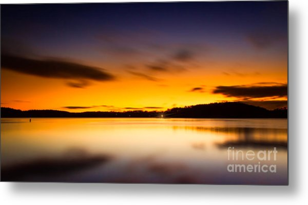Lake Lanier Sunrise Metal Print