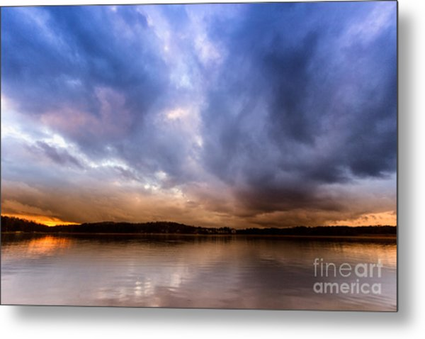 Lake Lanier Sunset Metal Print