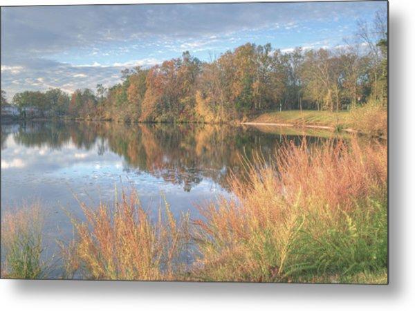 Lake Lenape In Autumn  Metal Print