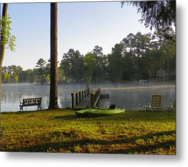 Metal Print featuring the photograph Lake Life by Lisa Wooten