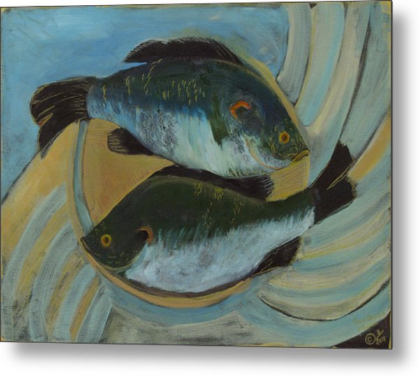 Lake Martin Fish Metal Print
