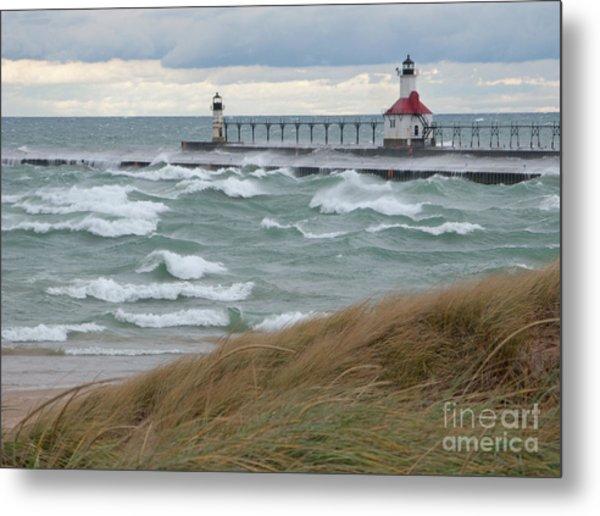 Lake Michigan Winds Metal Print