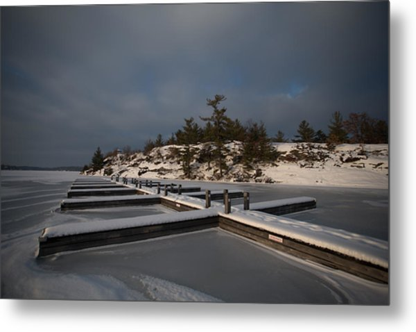 Lake Muskoka Metal Print