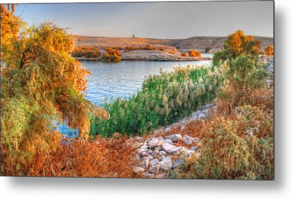 Lake Nasser Sunset Metal Print