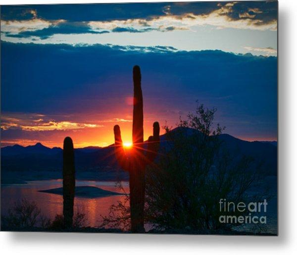 Lake Pleasant Arizona Metal Print