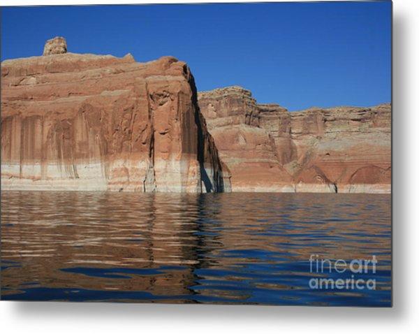 Lake Powell Cliffs Metal Print