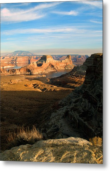Lake Powell From Alstrum Pt 02 Metal Print