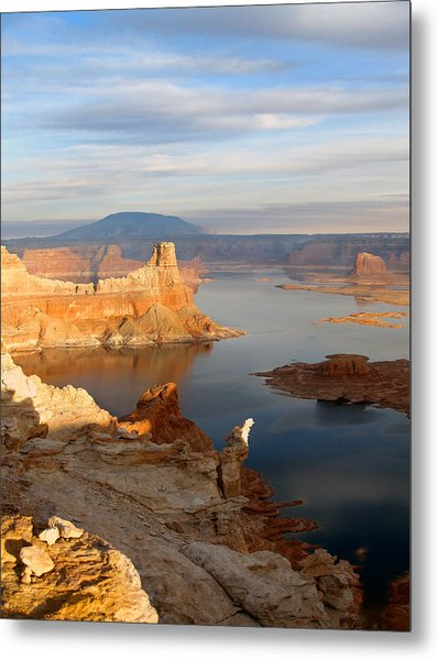 Lake Powell From Alstrum Pt 12 Metal Print