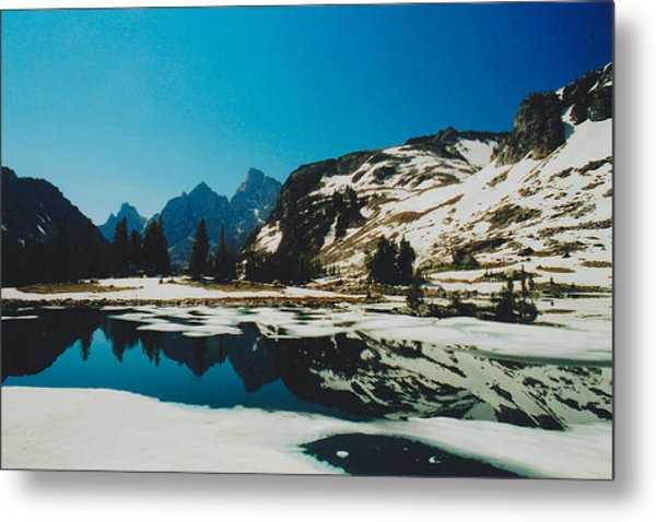 Lake Solitude Metal Print