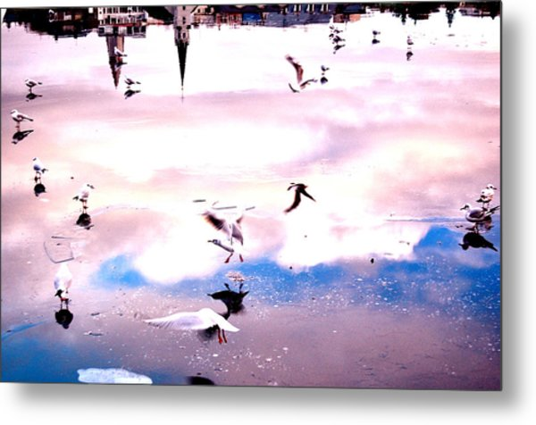 Lake Sonata Metal Print