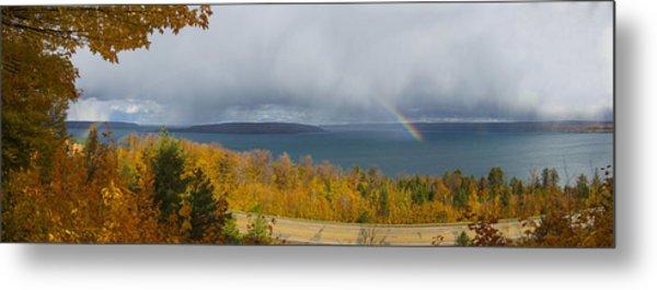 Lake Superior Overlook Metal Print