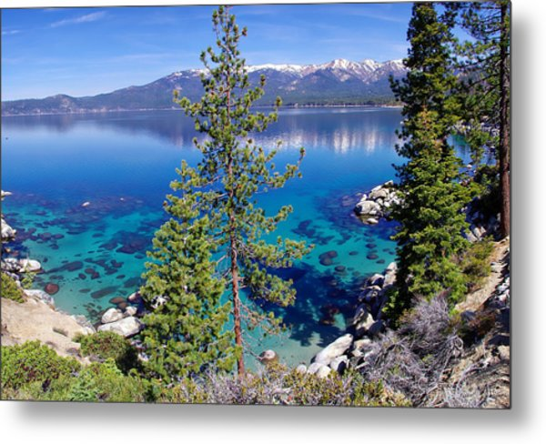 Lake Tahoe Beauty Metal Print