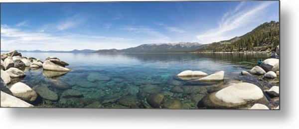 Lake Tahoe Calm Metal Print