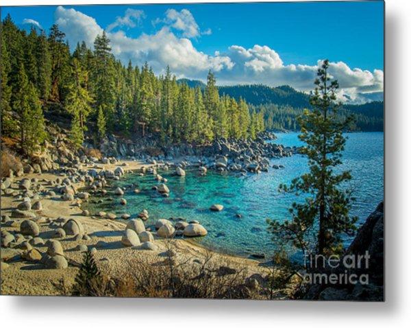 Lake Tahoe Hidden Cove Metal Print