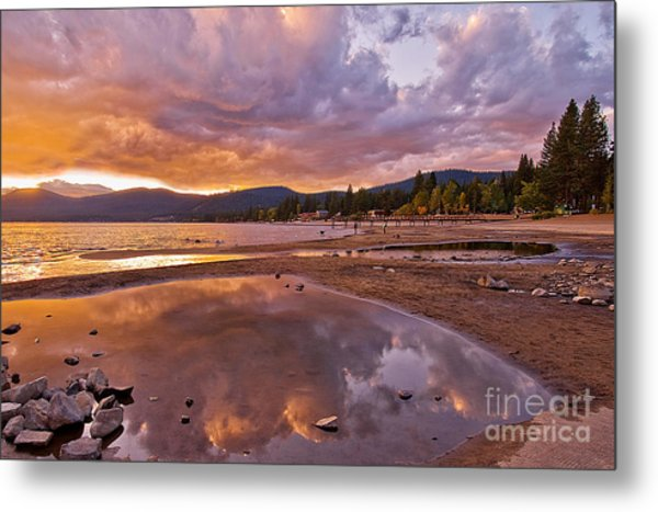 Metal Print featuring the photograph Lake Tahoe by Mae Wertz
