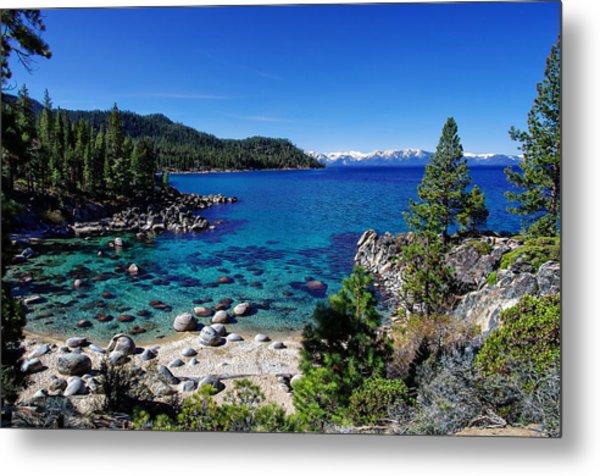 Lake Tahoe Springscape Metal Print