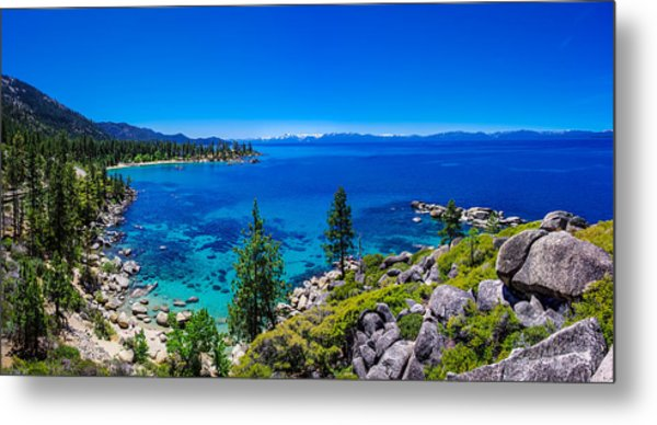 Lake Tahoe Summerscape Metal Print