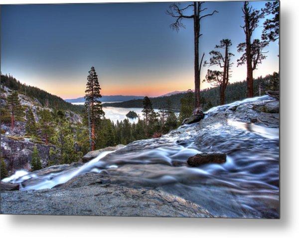 Lake Tahoe Sunset At Eagle Falls Metal Print