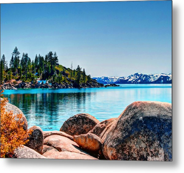 Metal Print featuring the photograph Lake Tahoe Winter Calm by William Havle