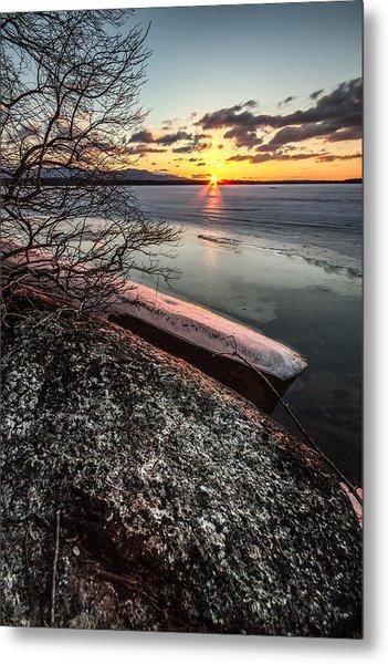 Lake Thaw Metal Print