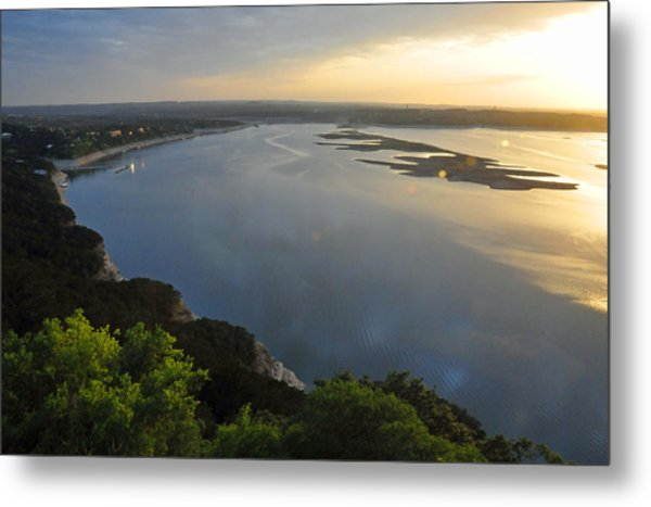 Lake Travis Sunset Metal Print