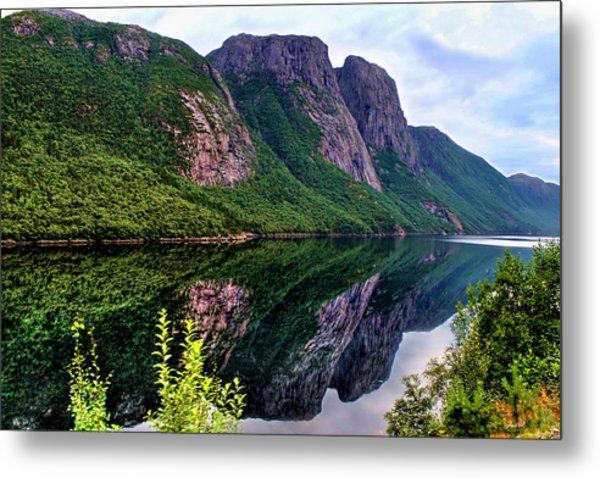 Lake Tysdalsvatnet Norway Metal Print