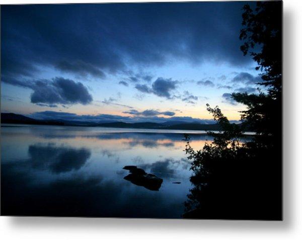 Lake Umbagog Sunset Blues No. 2 Metal Print