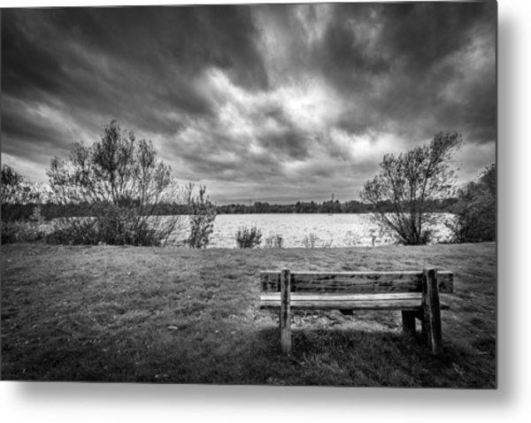 Lake View. Metal Print