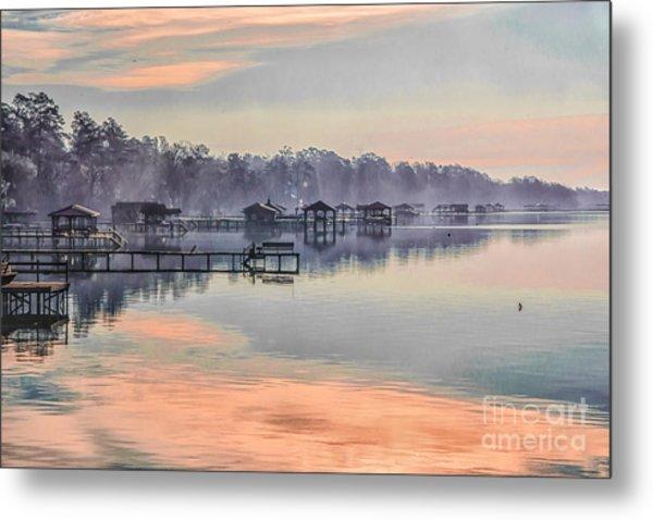 Lake Waccamaw Morning Metal Print