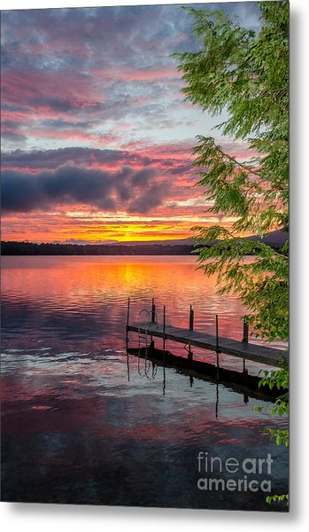 Lake Winnisquam Sunrise 2 Metal Print