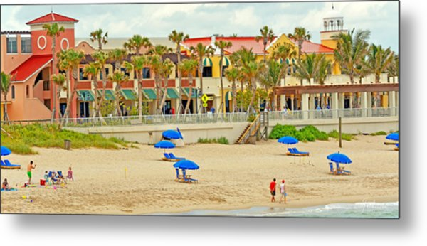 Lake Worth Casino Metal Print