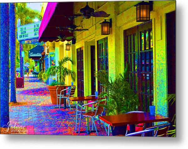 Lake Worth Playhouse Metal Print