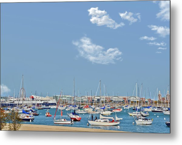 Lakefront Chicago Metal Print